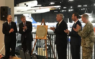 National Museum of U.S. Air Force is Certified LEED Gold